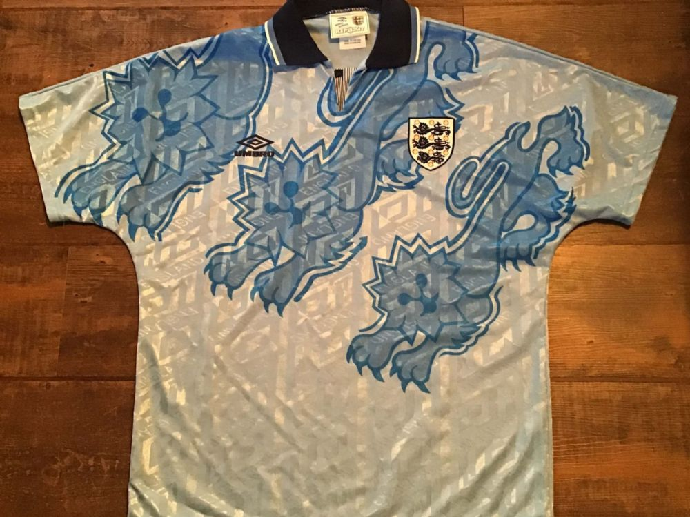 Classic Football Shirts  | 1992 England Old Vintage Soccer Jerseys